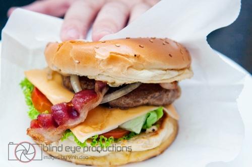 The Cheeseburger at Mikes