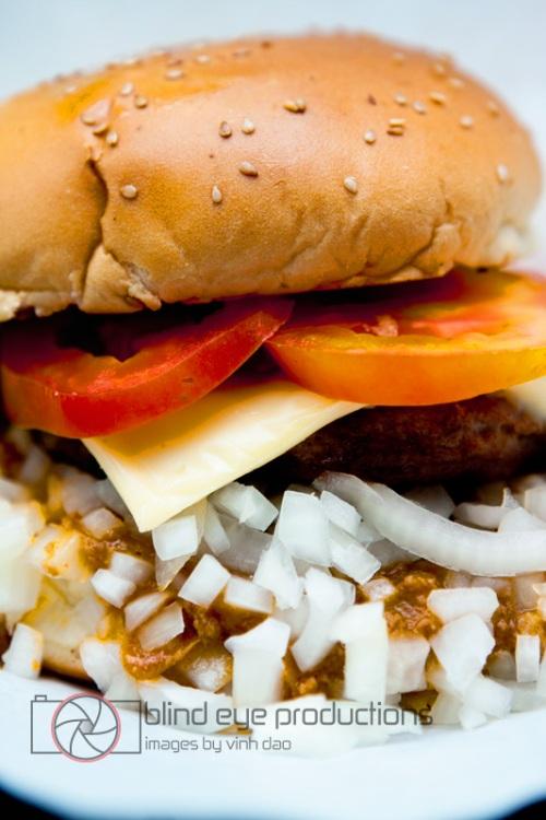 Chili Cheeseburger at Mikes Burger