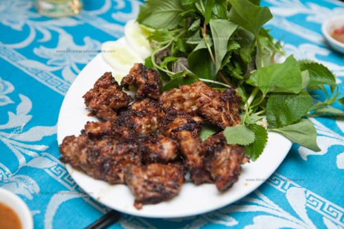 Thit Neung Heo or Grilled Pork Ribs