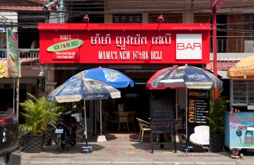 Mama's New York Deli exterior
