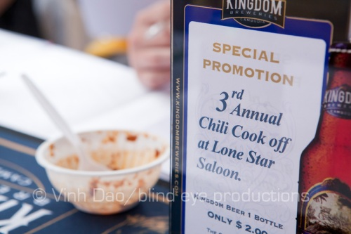 The 3rd annual Chili Cook off at Lonestar