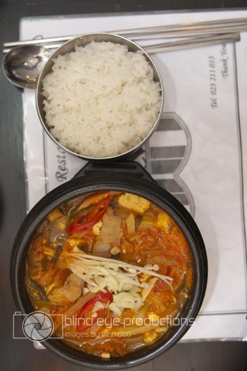 Kim Chi Stew at La Korea