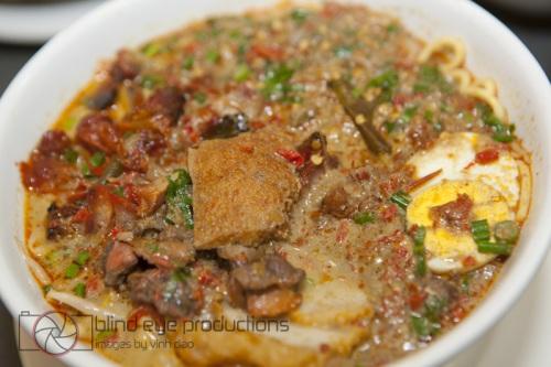 Curry Laksa at Hometown Kut Teh restaurant