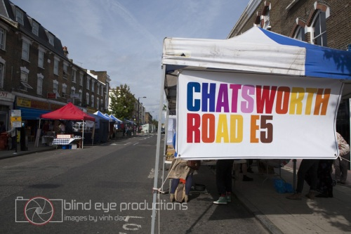 Chatsworth E5 market in Hackney
