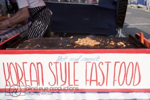 Kimchi Cult stand in Chatsworth E5 Market