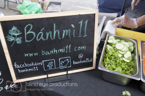 Banh Mi 11 stand in the Chatsworth E5 market