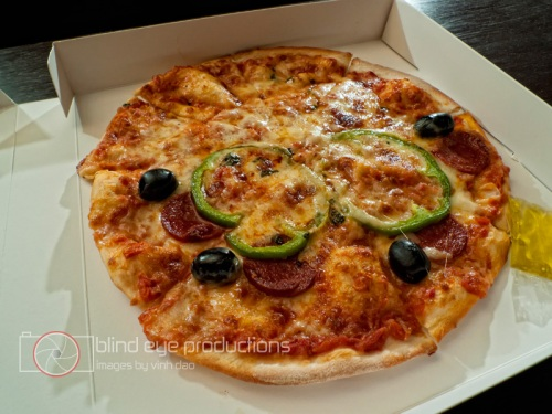 Pizza from Comme a la Maison