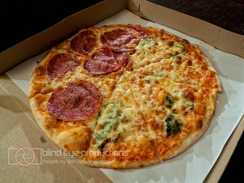 Pizza from Aria D'Italia