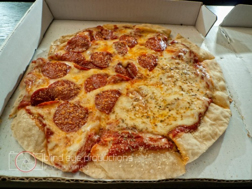 Pizza from Nikes Pizza