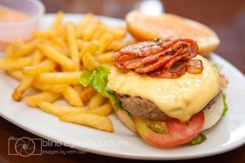 Bacon Cheeseburger at T-Bone Steakhouse