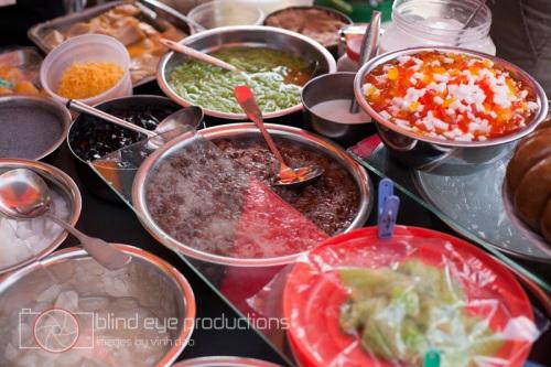 Khmer jelly desserts