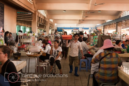 The food stalls inside Central Market