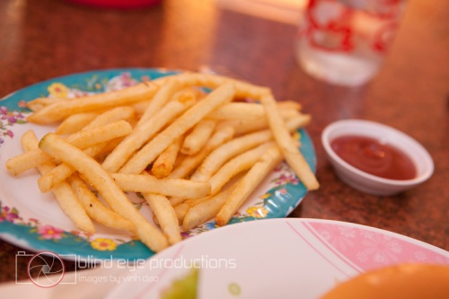 French Fries at Song Tra
