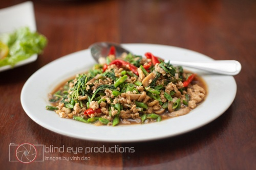 Stir Fried Chicken with Thai Basil