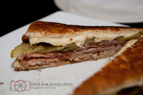 Cuban sandwich at the Garage