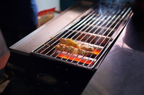 grilling at Osaka Ya