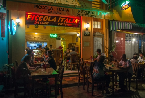 Piccola Italia, view from outside.